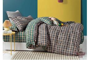 Комплект постельного белья Viluta Сатин Твил 500, 100% хлопок, размер евро