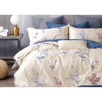 Комплект постельного белья Viluta Сатин Твил 515, 100% хлопок, размер полуторный