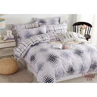 Комплект постельного белья Viluta Сатин Твил 518, 100% хлопок, размер полуторный