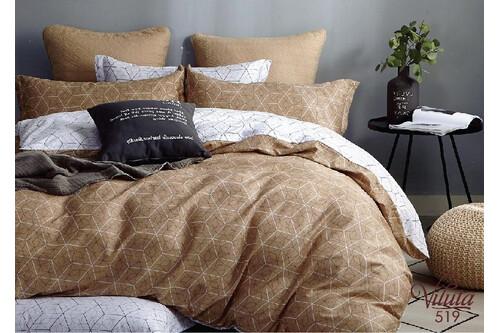 Комплект постельного белья Viluta Сатин Твил 519, 100% хлопок, размер полуторный