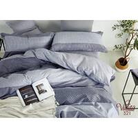 Комплект постельного белья Viluta Сатин Твил 521, 100% хлопок, размер полуторный