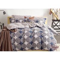 Комплект постельного белья Viluta Сатин Твил 522, 100% хлопок, размер полуторный