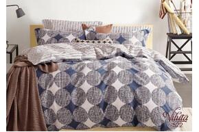 Комплект постельного белья Viluta Сатин Твил 522, 100% хлопок, размер евро