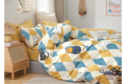 Комплект постельного белья Viluta Сатин-Твил 532, подростковый