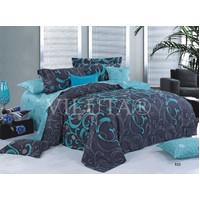 Комплект постельного белья Viluta Ранфорс  9844, размер двуспальный