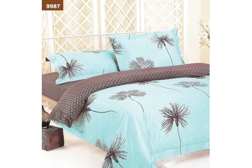 Комплект постельного белья Viluta Ранфорс 9987, 100% хлопок, размер двуспальный