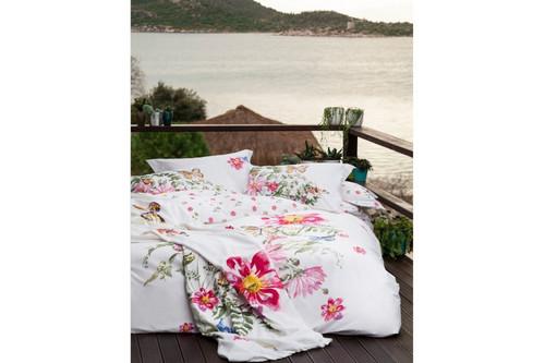 Постельное белье Karaca Home ранфорс - Brisa pembe розовый полуторное