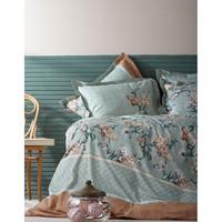 Постельное белье Karaca Home ранфорс - Alisse зеленый полуторное