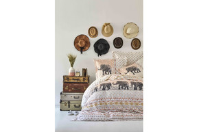 Постельное белье Karaca Home ранфорс - Sandy blush 2019-2 полуторное