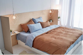 Постельный комплект Playa, сатин 100% хлопок, размер евро