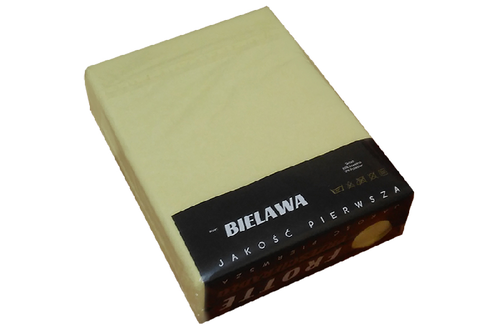 Простынь на резинке трикотажная 160*200, оливковый