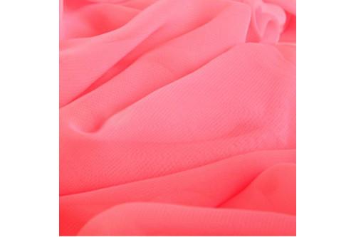 Шифон розовый рулон 50 м