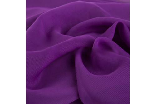 Шифон фиолетовый рулон 50 м