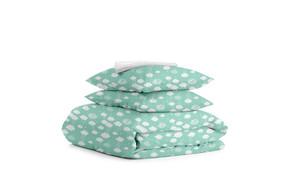 Комплект двуспального постельного белья CLOUD MINT WHITE