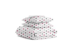Комплект двуспального постельного белья STAR ROSE WHITE