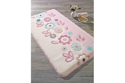 Коврик для ванной Confetti - April pembe розовый 57*100