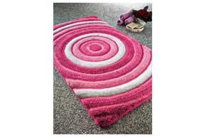 Коврик для ванной Confetti - Efesus bebe pembe розовый 60*100