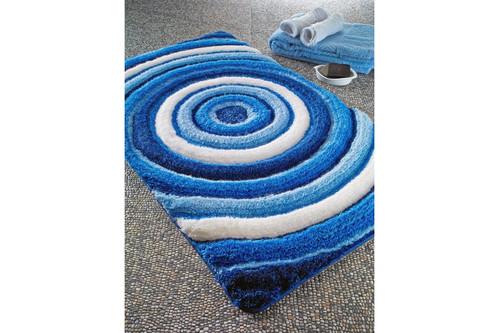 Коврик для ванной Confetti - Efesus pastel mavi голубой 60*100