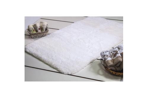 Коврик для ванной Confetti - Miami karbeyaz белый 57*100