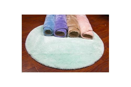 Коврик для ванной Confetti - Miami mint green ментол O 100 см
