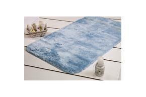 Коврик для ванной Confetti - Miami pastel mavi голубой 67*120
