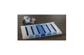 Коврик для ванной Confetti - Selinus голубой 60*100