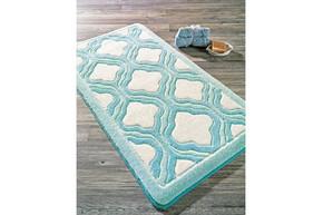 Коврик для ванной Confetti - Tiffany turkuaz бирюзовый 57*100