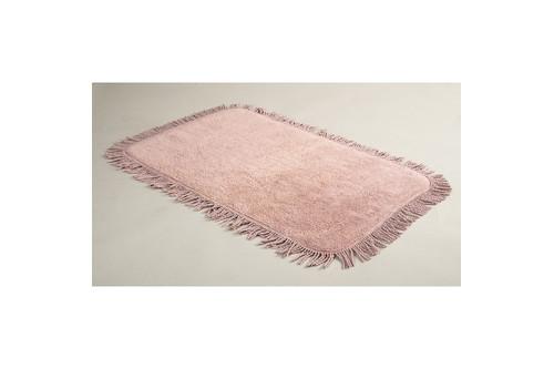 Коврик для ванной Irya - Axis pembe розовый 50*80