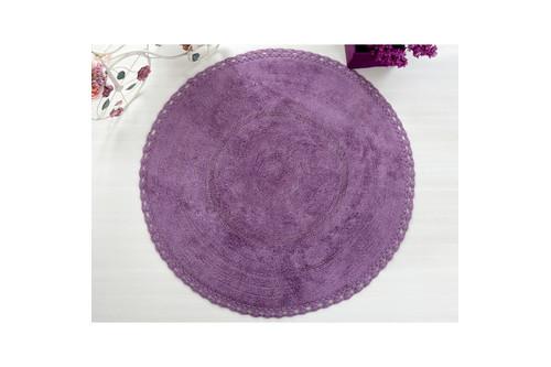 Коврик для ванной Irya - Genny фиолетовый 80*80