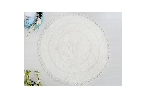 Коврик для ванной Irya - Genny молочный 80*80