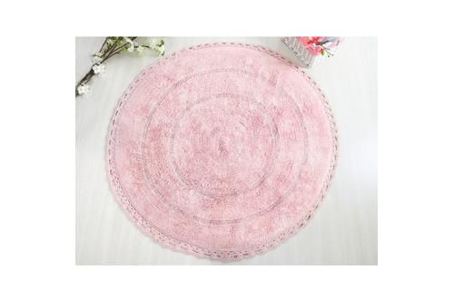 Коврик для ванной Irya - Genny розовый 100*100