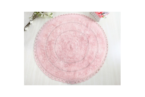Коврик для ванной Irya - Genny розовый 80*80