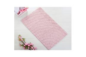 Коврик для ванной Irya - Metrotiles розовый 50*80