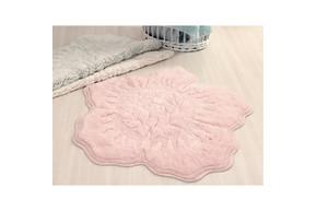 Коврик для ванной Irya - Rosalinda pembe розовый 90*90