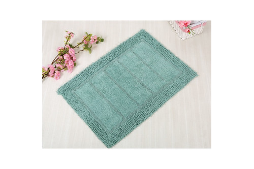 Коврик для ванной Irya - Vesta blue голубой 70*110