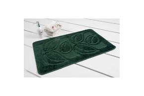 Коврик для ванной Maximus - Flora hunter green 60*100