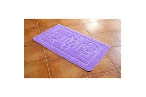 Коврик для ванной Maximus - Maritime lila (Lilac 2537) сиреневый 50*80