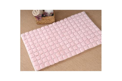 Коврик в ванную Irya - Bubble розовый 60*100