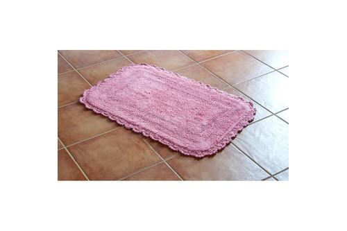 Коврик в ванную Irya - Sahra розовый 70*120