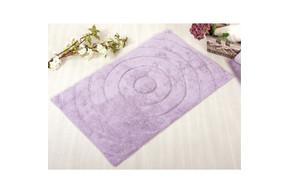 Коврик в ванную Irya - Waves lilac лиловый 70*120