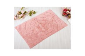 Коврик в ванную Irya - Waves pink розовый 70*120