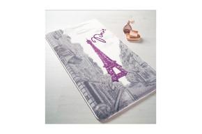 Набор ковриков для ванной Confetti - Paris 01 purple 57*100+50*57