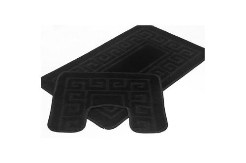 Набор ковриков для ванной Ethnic - PS 2513 black 50*80+40*50
