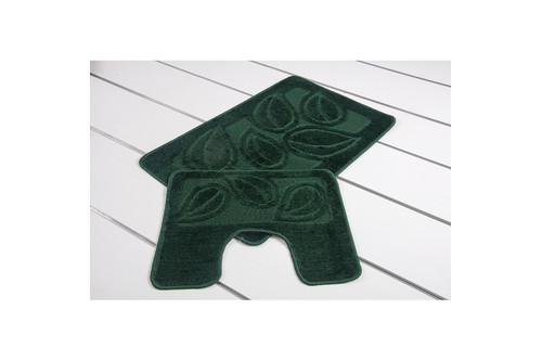 Набор ковриков для ванной Flora - PS 2536 hunter green 50*80+40*50