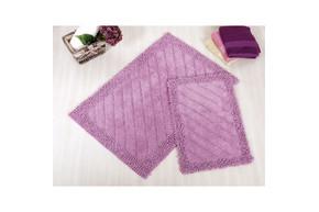 Набор ковриков для ванной Irya - Doly purple сиреневый 60*90+40*60