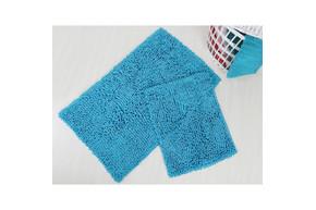Набор ковриков для ванной Irya - Drop turkuaz - 60*100+45*60