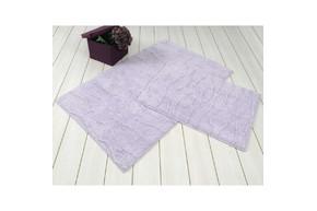 Набор ковриков для ванной Irya - Jasmine сиреневый - 60*100+45*60
