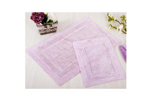 Набор ковриков для ванной Irya - Superior lila лиловый 60*90+40*60