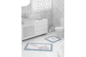 Набор ковриков для ванной Marie Claire - Bonjour multi (57*57+57*100)