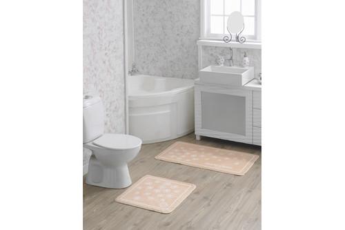 Набор ковриков для ванной Marie Claire - Brezze somon (57*57+57*100)